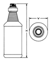 RINGED CARAFE from Plastic Bottle Corporation